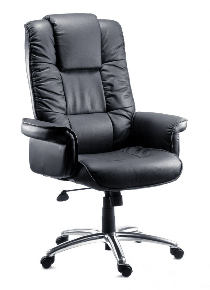 TEKNIK LOMBARD Leather Bonded Leather Executive Chair
